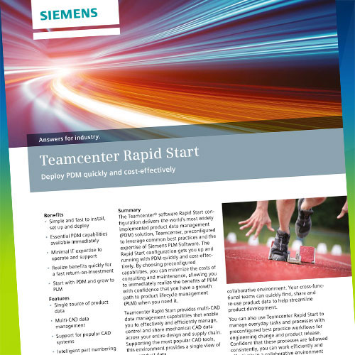 TEAMCENTER RAPID START BROCHURES